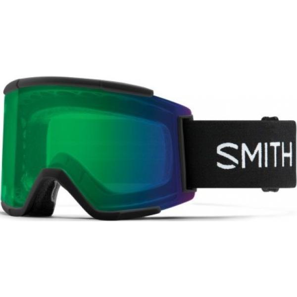 Brýle Smith Squad XL-Black/ChromaPop Everyday green mirror