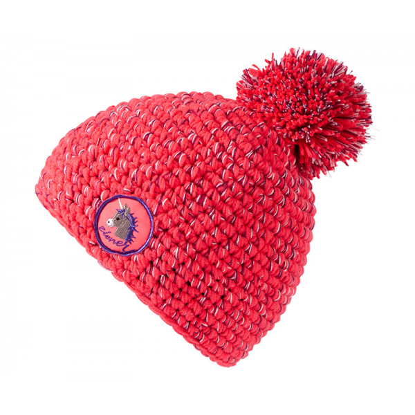 dětská čepice Ziener IL ZOO Minis Hat Neon Pink